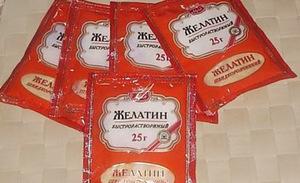 Применение желатина для лечения суставов