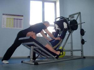 Тренажер для разработки коленного сустава
