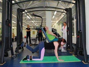 Комплекс упражнения на тренажере