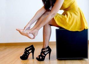 Как избежать болей в пятках?