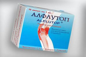 Хондропротектор Алфлутоп - упаковка лекарства