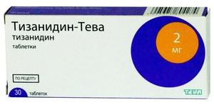 Таблетки Тизанидин-Тева помогают при остеохондрозе