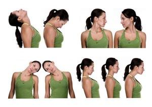 Упражнения для шеи помогут при остеохондрозе