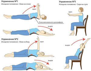 Упражнения для растяжки позвоночника или спины: условия для ...