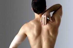 Опухоль на спине под лопаткой