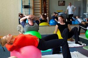 Лечебная гимнастика при грыже - перечень упражнений